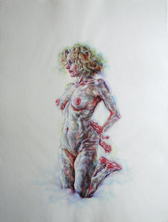 | 2014 | watercolour on paper | 71cm x 56cm