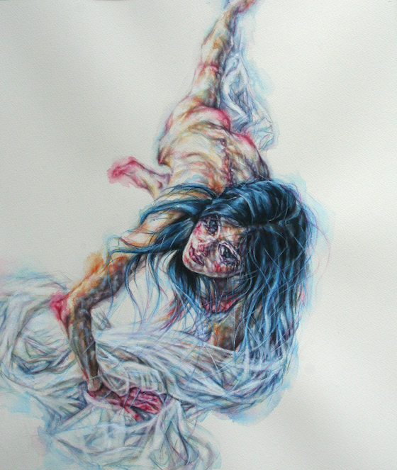 | 2014 | watercolour on paper | 53cm x 45cm