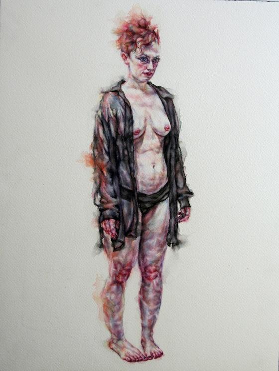 | 2013 | watercolour on paper | 41cm x 31cm
