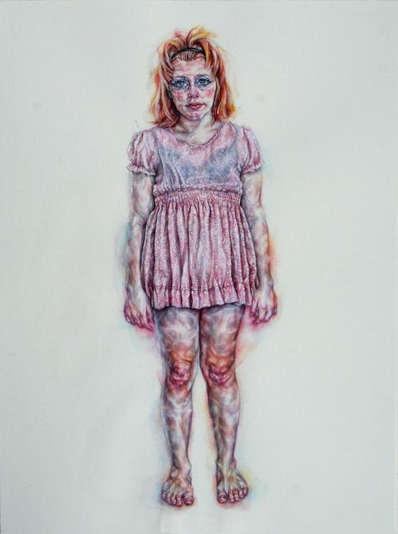 | 2014 | watercolour on paper | 66cm x 53cm