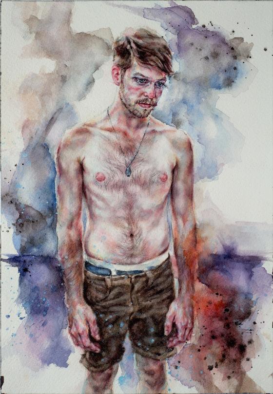 | 2012 | watercolour on paper | 28cm x 18cm