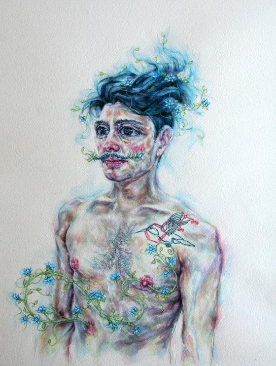 | 2014 | watercolour on paper | 41cm x 31cm